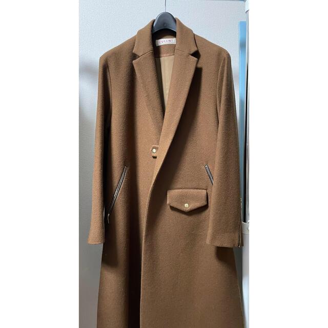 cullni ライダース チェスターコート 18aw タグ付き メンズのジャケット/アウター(チェスターコート)の商品写真