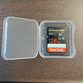 サンディスク(SanDisk)のサンディスク SDXC UHS-II SDカード128GB ExtremePRO(PC周辺機器)