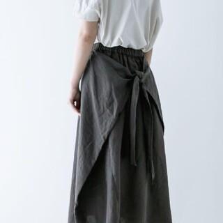 nest Robe - ネストローブ リネン イージーラップスカート