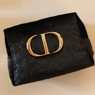 Dior - Dior  ディオール ポーチ ノベルティ ブラック クリスマスオファー