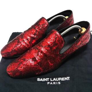 サンローラン(Saint Laurent)のSaint Laurent  44  エディ期初期   ラメ   グリッター(ドレス/ビジネス)
