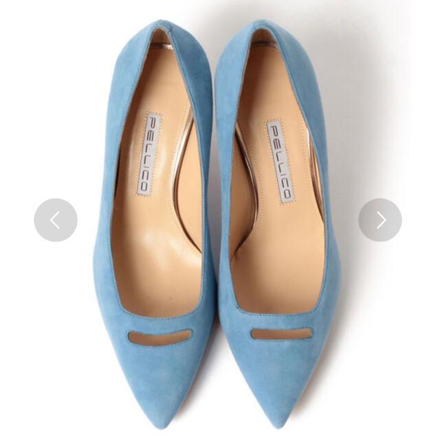 PELLICO(ペリーコ)のPELLICO ペリーコ アンドレア パンプス 35 1/2  レディースの靴/シューズ(ハイヒール/パンプス)の商品写真