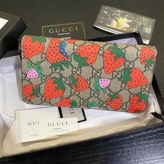 Gucci - GUCCI グッチ ストロベリー 長財布