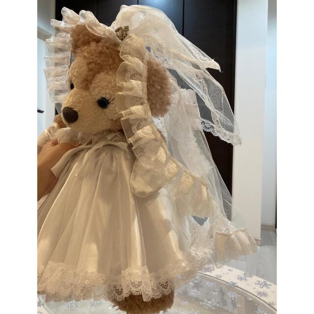 ダッフィー(ダッフィー)のダッフィー コスチューム 結婚式 ハンドメイドのウェディング(ウェルカムボード)の商品写真