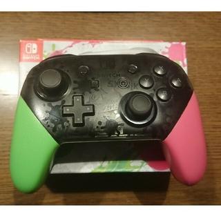 ニンテンドースイッチ(Nintendo Switch)のNintendo Switch プロコントローラースプラトゥーン2エディション(その他)