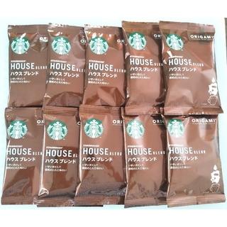 スターバックス オリガミ ハウスブレンド 10袋 ドリップコーヒー