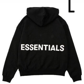 FEAR OF GOD - FOG Essentials Pullover Hoodie パーカー ブラック