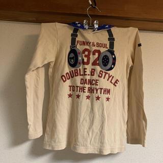 ダブルビー(DOUBLE.B)のダブルビー ダブルB  パーカー 130cm(Tシャツ/カットソー)