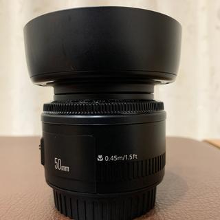 Canon - (専用フード付き!)Canon LENS EF 50mm f1.8 II
