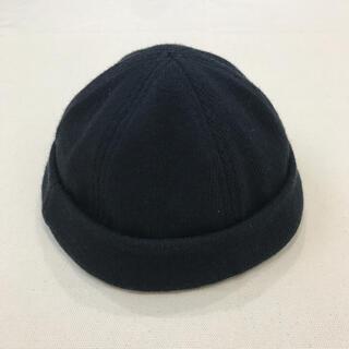 クーティー(COOTIE)のcootie thug knit cap black L(キャップ)