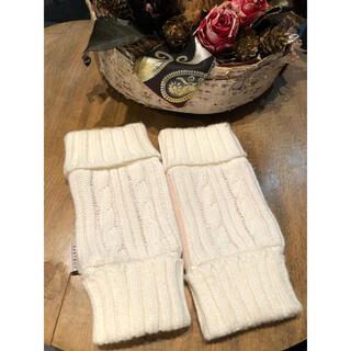 EASTBOY - EASTBOY 白 ケーブル編み 手袋