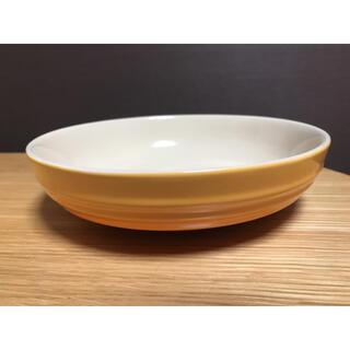 ルクルーゼ(LE CREUSET)のルクルーゼ ラウンドディッシュ オレンジ(食器)