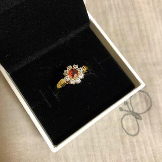 赤い石の指輪(リング(指輪))