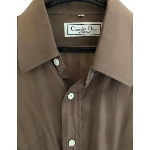 Christian Dior(クリスチャンディオール)のChristian Dior シルクシャツ メンズのトップス(シャツ)の商品写真