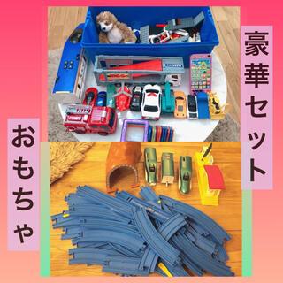 レゴ(Lego)の男の子 大量 おもちゃ セット LEGO プラレール 車 新幹線 電動(電車のおもちゃ/車)