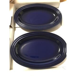 ルクルーゼ(LE CREUSET)のルクルーゼ オーバルプレート 2枚セット(食器)
