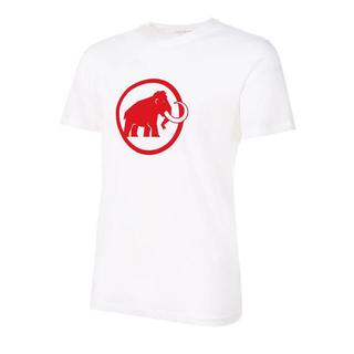 マムート(Mammut)のMAMMUT マムート 半袖Tシャツ マムートロゴTシャツ白 メンズL新品(Tシャツ/カットソー(半袖/袖なし))