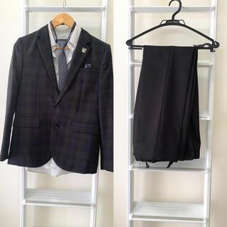 ミチコロンドン(MICHIKO LONDON)の男の子 卒業式 入学式 お受験 発表会 結婚式  ブラックスーツ(ドレス/フォーマル)