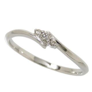 ザキッス(THE KISS)のザ・キッス リング・指輪  K10WG ダイヤモンド(リング(指輪))