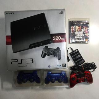 PlayStation3 - PlayStation3 320GB +コントローラー2 +グラセフ4