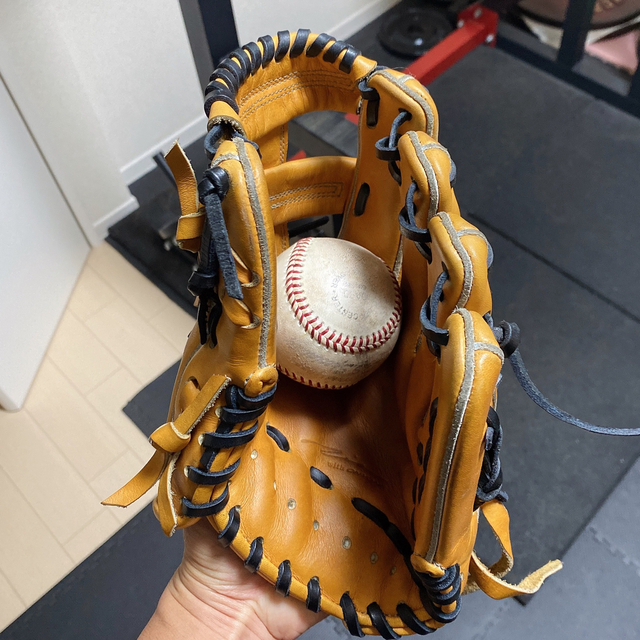 ONYONE(オンヨネ)の特別値下げ アイピーセレクト 硬式内野グローブ スポーツ/アウトドアの野球(グローブ)の商品写真