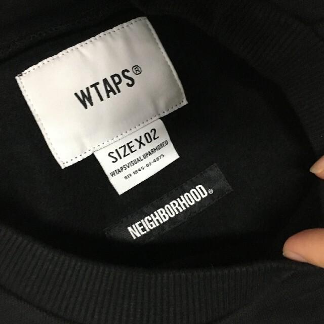 NEIGHBORHOOD(ネイバーフッド)のRIPPER CREW NECK SWEATSHIRT WTAPS × NBHD メンズのトップス(スウェット)の商品写真