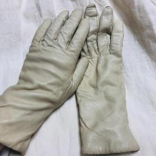 サンタモニカ(Santa Monica)のヴィンテージ  レザー 手袋(手袋)