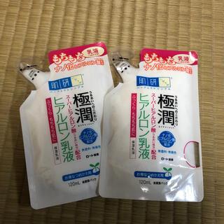ロートセイヤク(ロート製薬)の極潤 ヒアルロン乳液 詰め替え用2個セット(乳液/ミルク)