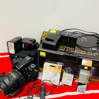 Nikon D750 SB910 ストロボ 予備バッテリー フィルター付き