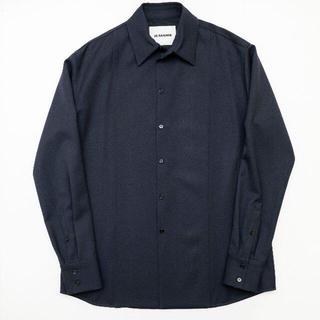 Jil Sander - 【JIL SANDER】ウールドレスシャツ
