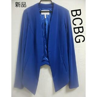 ビーシービージーマックスアズリア(BCBGMAXAZRIA)の新品 BCBGジャケット(ノーカラージャケット)