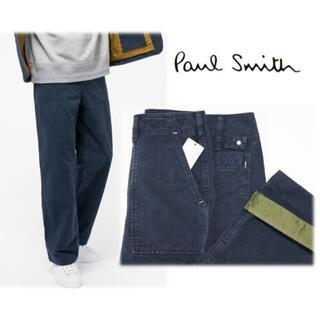 ポールスミス(Paul Smith)の新品【ポールスミス PS RED EAR】ヴィンテージ加工 チノパン 紺 M(チノパン)