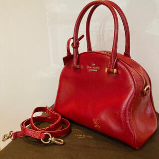 kate spade new york - 【katespade】2way エナメルバッグ
