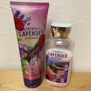 バスアンドボディーワークス(Bath & Body Works)のbath&body works FRENCH LAVENDER & HONEY(ボディクリーム)