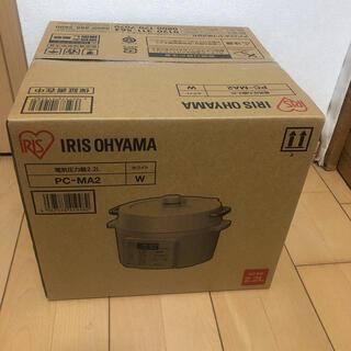 アイリスオーヤマ(アイリスオーヤマ)のアイリスオーヤマ 電気圧力鍋 PC -MA2  2,2リットル ホワイト(調理機器)