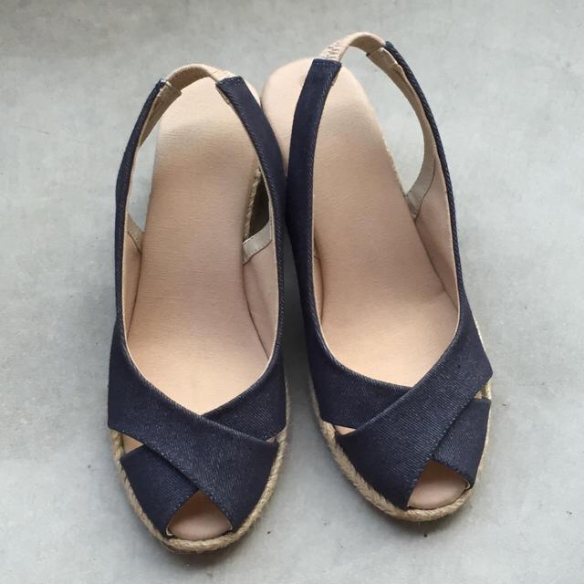 MUJI (無印良品)(ムジルシリョウヒン)の無印良品 エスパドリーユサンダル レディースの靴/シューズ(サンダル)の商品写真