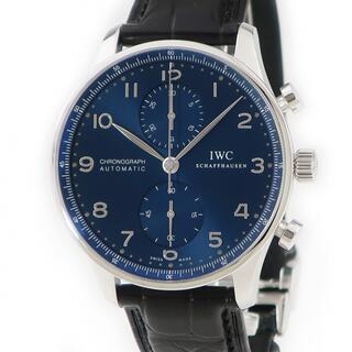 インターナショナルウォッチカンパニー(IWC)のIWC  ポルトギーゼ クロノ IW371491 自動巻き メンズ 腕時(腕時計(アナログ))