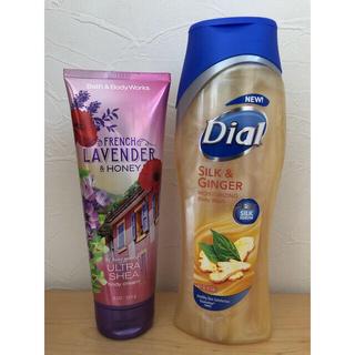 バスアンドボディーワークス(Bath & Body Works)のbath&body works ボディクリーム dial ボディウォッシュ(ボディクリーム)