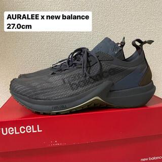 New Balance - 【27.0cm】auralee x new balance  Chacoal