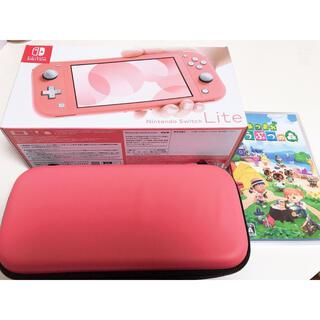 Nintendo Switch - スイッチライト どうぶつの森 クリアカバー スイッチケース セット