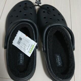 crocs - クロックス ボアつき 27cm ブラック