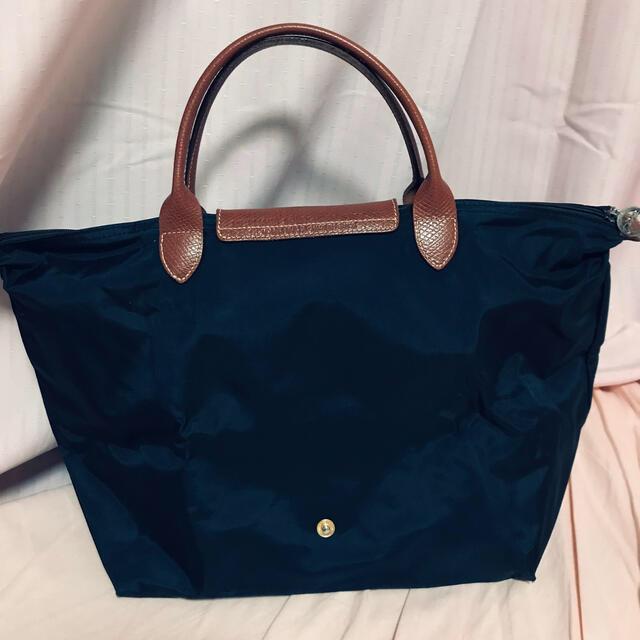 LONGCHAMP(ロンシャン)の【値下げ】ロンシャン プリアージュ 1623 M ネイビー レディースのバッグ(トートバッグ)の商品写真