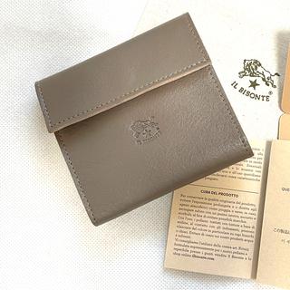 イルビゾンテ(IL BISONTE)のイルビゾンテ IL BISONTE 三つ折り財布 (小銭入れ付)トルトラ(財布)
