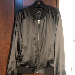 エイチアンドエム(H&M)の「美品」」MA-1 H&M リバーシブル  ブルゾン ジャケット メンズ XL(ブルゾン)
