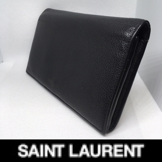 Saint Laurent - サンローラン 長財布 ブラック