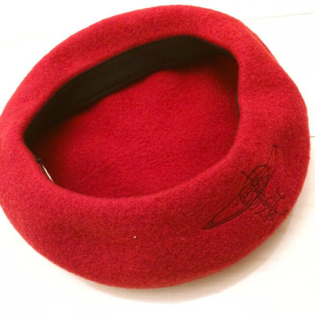 Vivienne Westwood(ヴィヴィアンウエストウッド)の【正規品】新品vivieenne ベレー帽 レディースの帽子(ハンチング/ベレー帽)の商品写真