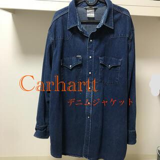 カーハート(carhartt)のCarhartt  デニム生地ジャケット(Gジャン/デニムジャケット)