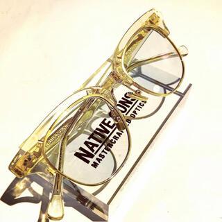 ワコマリア(WACKO MARIA)のNATIVE SONS NEWMAN Honey Mauve  サングラス(サングラス/メガネ)