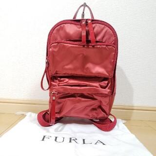 Furla - 美品 FURLA ナイロンエナメル ミニリュック