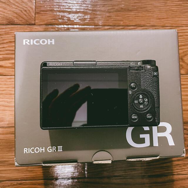 RICOH(リコー)のRICOH GRⅢ スマホ/家電/カメラのカメラ(コンパクトデジタルカメラ)の商品写真